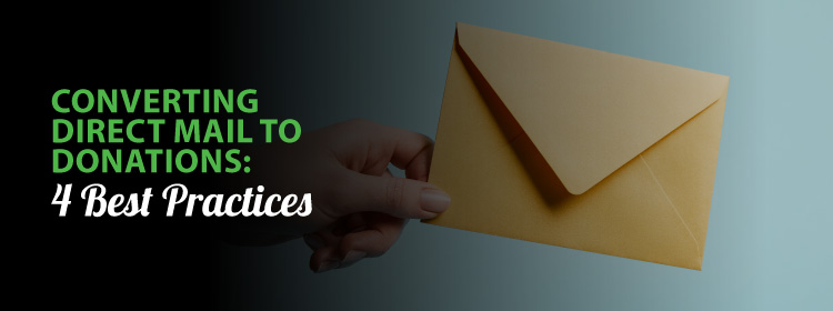 Converting direct mail to donations