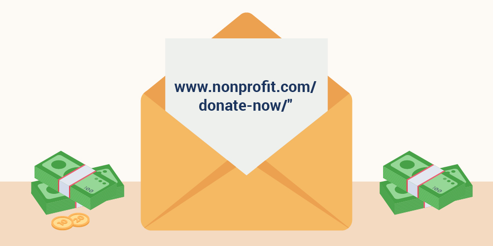 Here's an example of a multi-channel approach to run alongside your effective fundraising letters.