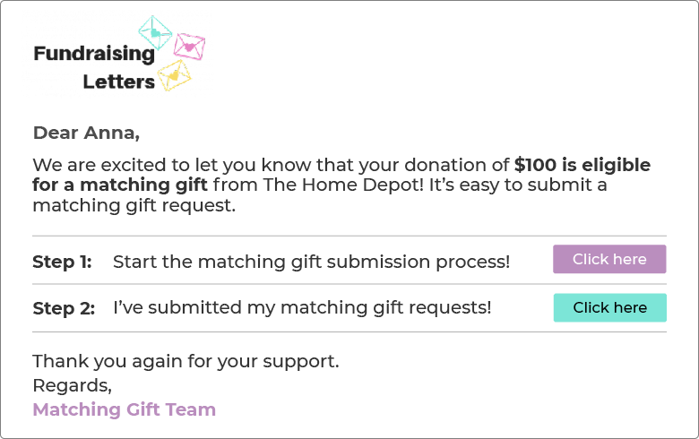 Another matching gift best practice is to invest in a matching gifts automation platform.