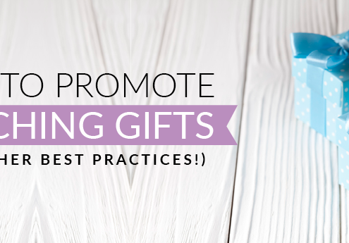 Learn how to promote matching gifts and other best practices with this guide.